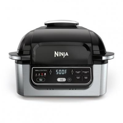 Ninja IG301A Foodi 5-in-1 Indoor Grill with 4-Quart Air Fryer with Roast, Bake, Dehydrate, and Cyclonic Grilling Technology 110 VOLTS (ONLY FOR USA)