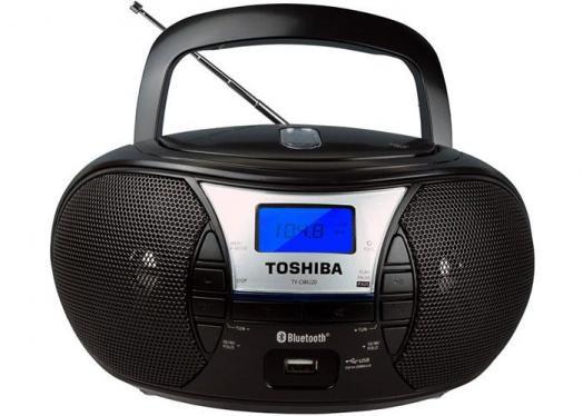Toshiba TY-CWU20 Portable CD/USB Radio with Bluetooth 110-220 VOLTS