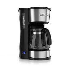 Black and Decker CMO755S 4-in-1 5 Cup Coffee Maker 220 240 Volts 220 VOLTS NOT FOR USA