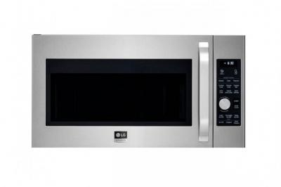 LG STUDIO LSMC3086ST 1.7 cu. ft. Over The Range Convection Microwave, Stainless Steel FACTORY REFURBISHED (FOR USA )