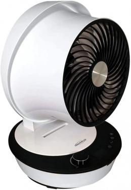 Soleus Air AIR906F Tabletop Air Circulator 12 speed settings and 2-way Auto Swing.