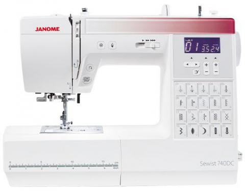 Janome 740DC Computerised Sewing Machine 220 VOLTS NOT FOR USA