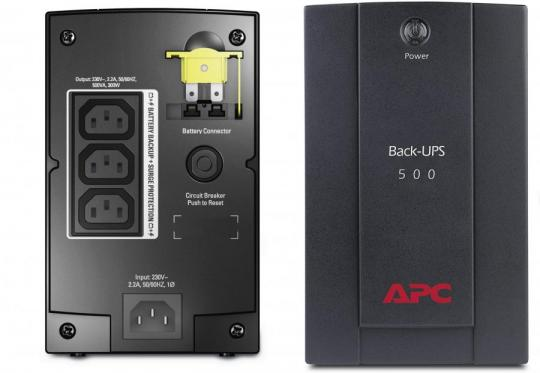 APC BX500 Back-UPS BX Battery Backup & Surge Protector 220 volts NOT FOR USA