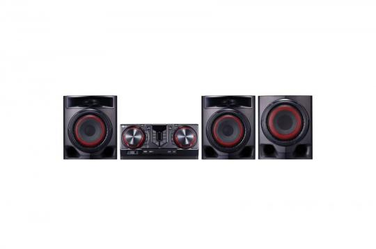 LG CJ45 720W, Mini Audio, Dual USB TV Sound System 110-220 VOLTS