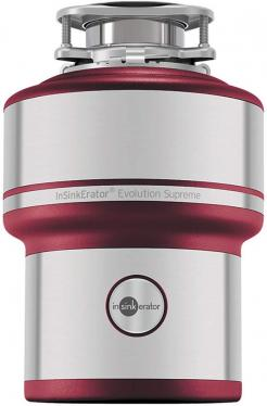 InSinkErator Evolution 200S Food Waste Disposal Unit, Red 220 volts NOT FOR USA