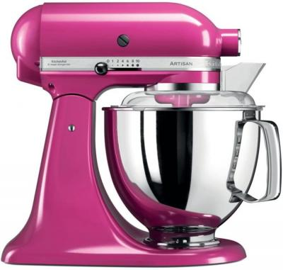 KitchenAid Artisan 5KSM175PSECB 5 Qt.Stand Mixer (Cranberry) with TWO Bowls & Flex Edge Beater 220 VOLTS NOT FOR USA
