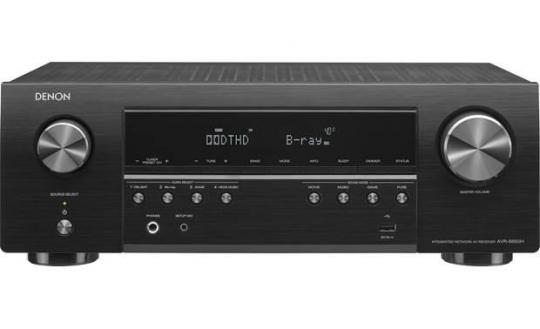Denon AVR-S650H 5.2ch AV Receiver with Voice Control 110-220 VOLTS