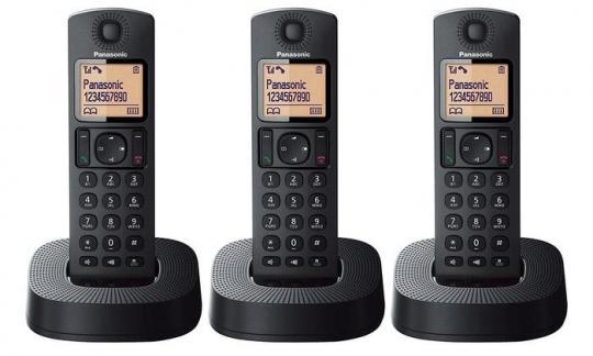 Panasonic KX-TGC323 New 3-Handset Cordless Phone 220 VOLTS NOT FOR USA