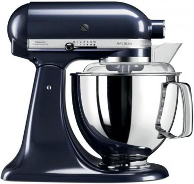 KitchenAid Artisan 5KSM175PSEUB 5 Qt. Stand Mixer (Blueberry) with TWO Bowls & Flex Edge Beater 220 VOLTS NOT FOR USA