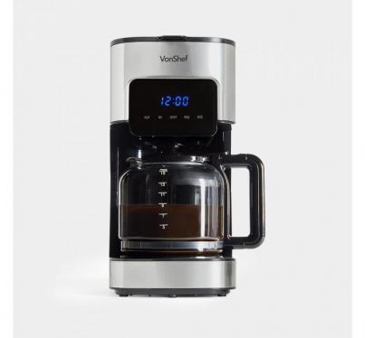 Vonshef 2000096 digital programmable 12 cup coffee maker 220 VOLTS NOT FOR USA