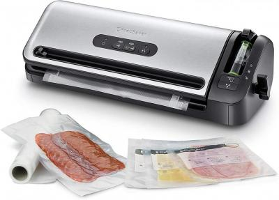 Foodsaver FFS017X-01 Compact vacuum sealing system with roller bearing 220v (NOT FOR USA)