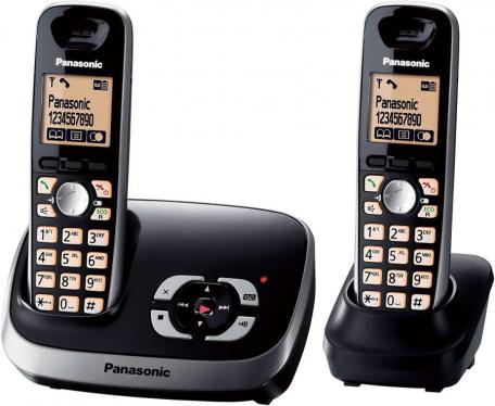 Panasonic KX-TG6522G Cordless Phone with Answering Machine 220 VOLTS (NOT FOR USA)