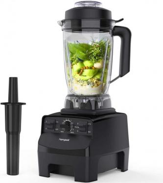 homgeek NY-8608MCA Blender Smoothie Maker, 2000W 10-Speed 220 VOLTS NOT FOR USA