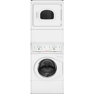 SPEED QUEEN LTEE5ASP175TW01 MULTI-HOUSING COMMERCIAL STACK WASHER/DRYER 120/240/60/1