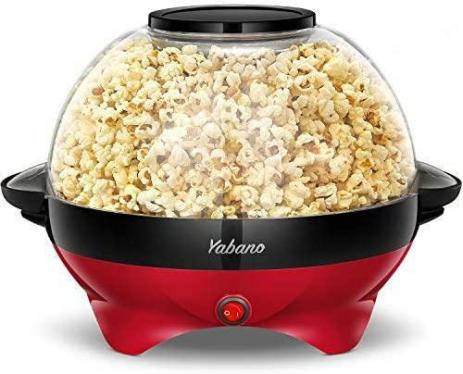 Yabano Popcorn Maker for Home Removable Heating Surface 220 VOLTS NOT FOR USA