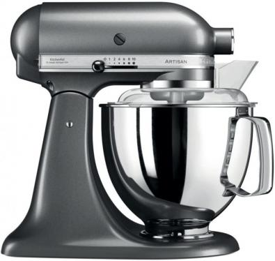 KITCHENAID 5KSM175PSEMS 5 QT. STAND MIXER (Medallion Silver) WITH TWO BOWLS 220 VOLTS NOT FOR USA