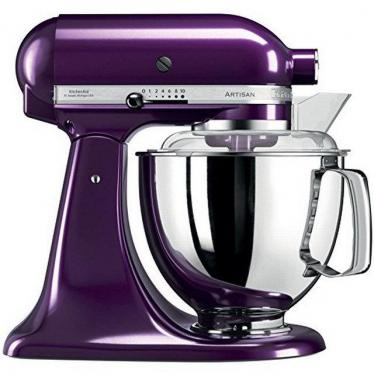 KITCHENAID 5KSM175PSEPB 5 QT. STAND MIXER (Plumberry) WITH TWO BOWLS 220 VOLTS NOT FOR USA