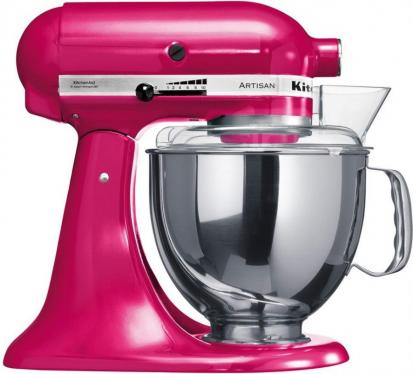 KITCHENAID 5ksm175pseri 5 QT. STAND MIXER (Raspberry Ice) WITH TWO BOWLS 220 VOLTS NOT FOR USA