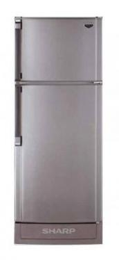 Sharp SJS192KSL (Silver Finish)Top Mount No Frost Refrigerator 220 VOLTS NOT FOR USA