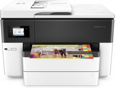 HP OfficeJet Pro 7740 A3 Multifunction Printer (A3, Printer, Scanner, Copier, Fax, Wi-Fi, Duplex, HP ePrint, Apple Air- print, USB, 4800 x 1200 dpi) White NOT FOR USA