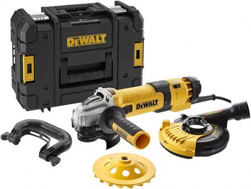 Dewalt DWE4257KT-QS Electric Angle Grinder, 125 mm, 1500 W, Concrete, 2 W, 240 V    220-240 VOLTS NOT FOR USA