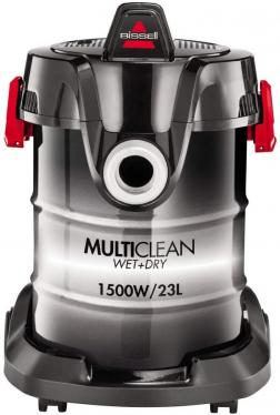 Bissell 2026M MultiClean Multi-Purpose Vacuum Cleaner, Wet & Dry Vacuum Cleaner with Blower Function, 1500 W, 7-Piece Accessory Set, 23 L  220-240 VOLTS NOT FOR USA
