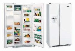 Frigidaire 22.6 CFT FRSF25V4AW/FRS25V5CW  Side By Side Refrigerator for 220-240 volts