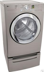 LG DLG3744S 7.3 cu. ft. Ultra Capacity Front Load Gas Steam Dryer (FACTORY REFURBISHED)(FOR USA)