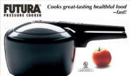 FUTURA 4 LITRE HAWKINS STAINLESS STEEL PRESSURE COOKER