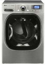 LG DLGX3876V 7.4 cu. ft. Ultra Capacity Front Load Gas Steam Dryer (FACTORY REFURBISHED)(FOR USA)