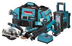 Makita LXT700 18V LXT Lithium-Ion 7-Pc. Combo Kit 220-240 Volt