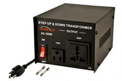 500 Watts TC-500W Universal Socket Step Up Step Down Voltage Transformer