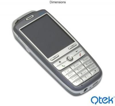 QTEK A8300 QUADBAND UNLOCKED GSM PHONE