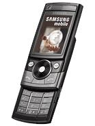 Samsung G600 Unlocked Quadband Ebony Black Phone