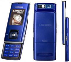 SAMSUNG SGH-J600 Unlocked Triband Purple Blue Phone