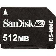 SANDISK RS-MMC 1GB MEMORY CARD