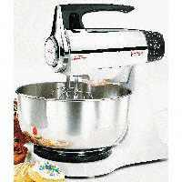 Oster 2392 Chrome Stand Mixer 12 Speed + Pulse 220 Volts Only.