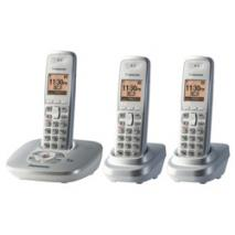 Panasonic KX-TG6473PK 3 Handsets Cordless Phone for 110-240 Volts