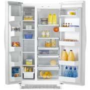 Whirlpool 6ES2FHKXRQ 22 CFT  Refrigerator / Freezer for 220 volts