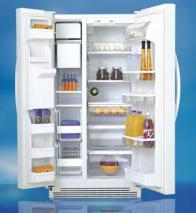 Whirlpool 27 CFT 6GD25DCXHW Side By Side Refrigerator for 220 volts