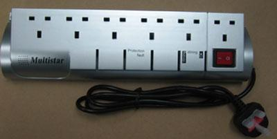 Multistar MS-6SISUK SURGE PROTECTOR FOR 220 VOLTS ONLY