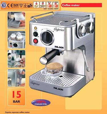 Palson EX450W espressor and cappuccino maker