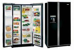 Frigidaire GLVC25VBGB 22.6cu. ft Black Side by Side Refrigerator 220-240 Volts