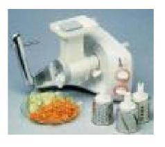 Electrolux EL6026 DLX Assistent Food Processor for 220 volts