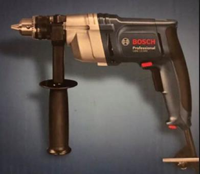 "Bosch GBM130HRE 220-240 Volt 1/2"" High Torque Drill with Drilling diameter in steel"