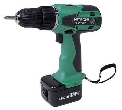 Hitachi DS12DVF2 12 Volt Cordless Screw Drill Kit with Flashlight 220-240 Volt, 50 Hz
