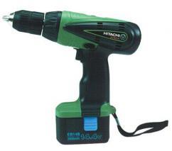 Hitachi DS14DVB 220 Volt Cordless Drill Kit