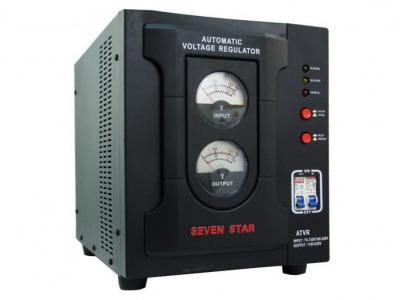 Seven Star 8000Watts Deluxe Automatic Voltage Regulator, Voltage Converter Transformer (CE Appr.)