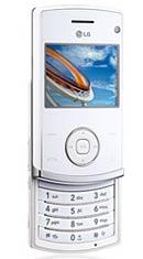 LG KU580 unlocked triband White gsm phone