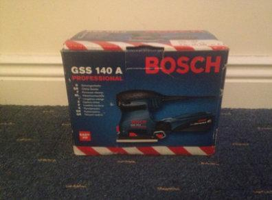 BOSCH GSS140A 1/4 Sheet Finishing Sander 220V